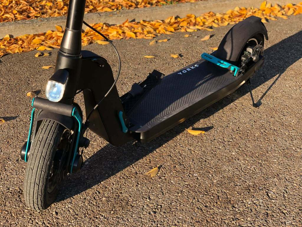 Yorks E Scooter im Detail
