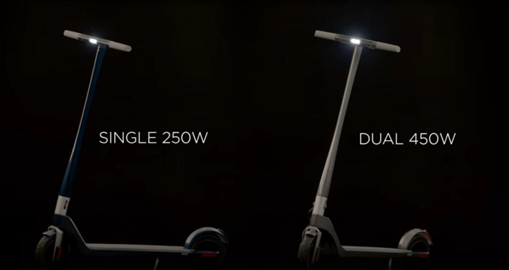 Unagi E Scooter 250 Watt oder 450 Watt
