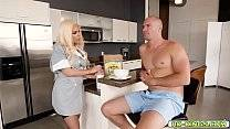 Sean Lawless feeding Luna Star his cock