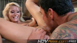 Blonde Monique Alexander Fuck and Cumshot