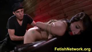FetishNetwork Mia Hurley submits to bdsm