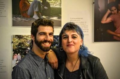 """Exposição """"antes de ser TRANS, é ser Pessoa"""": António e Dani"""