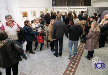 Galería de Arte: Abrió la muestra de Oscar Gubiani