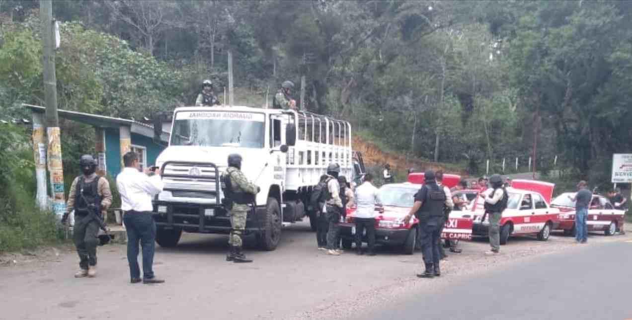 MEGA OPERATIVO EN ZONA DE HUATUSCO