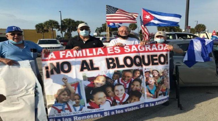 EXIGEN FIN DE BLOQUEO ECONÓMICO EN CUBA