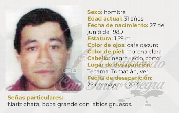 SIN PISTAS DE CAMPESINO DE TOMATLÁN
