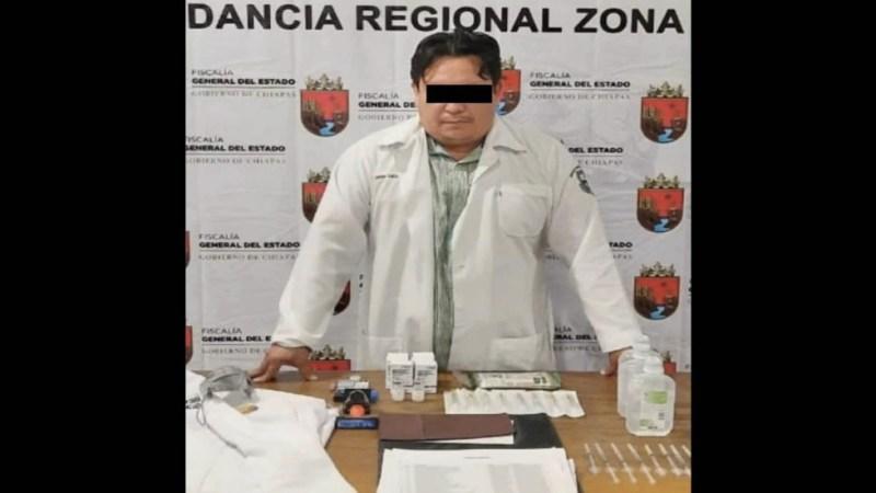 DETIENEN A SUPUESTO MÉDICO POR APLICAR VACUNAS FALSAS CONTRA COVID-19