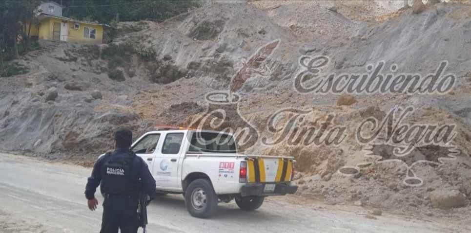 MANTIENEN MONITOREO EN ZONA DE ARENALES DE COSCOMATEPEC