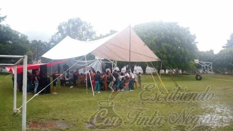 SÍNDICA DE COSCOMATEPEC BOICOTEA EVENTO DEPORTIVO