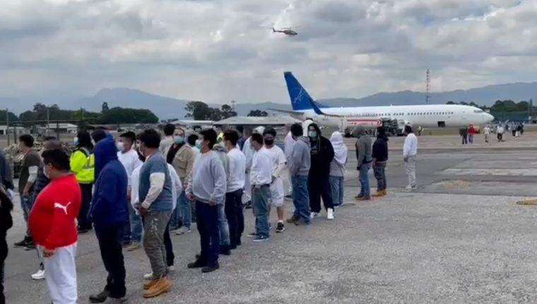 SUMAN 2 MIL 731 PERSONAS DEPORTADAS A GUATEMALA DESDE MÉXICO EN 2021