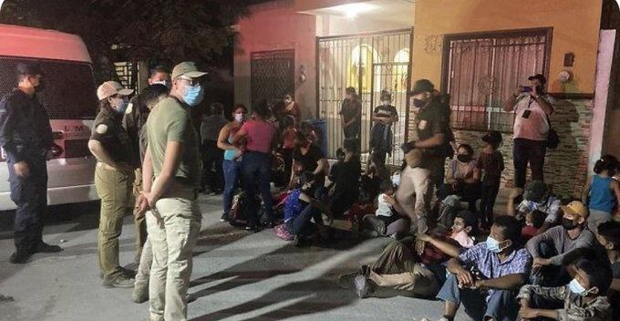 ENCUENTRAN A 133 MIGRANTES EN CASA DE SEGURIDAD EN PUEBLA