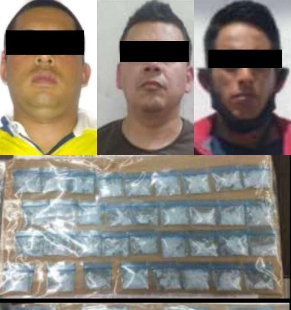 LOS CAPTURAN CON DROGA