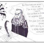 Viñeta literaria (II): Cervantes guarda la compustura