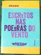 escritos nas poeiras do vento por Vítor de Matos - capa frente - 1ª edição