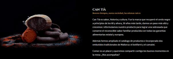 TExtos web Can Tia: Mano a mano con el equipo de Empiula creamos su identidad de marca, identidad verbal, branding y su nueva web.