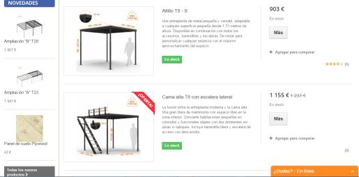 Edición de textos para webs y tiendas online: Tecrostar