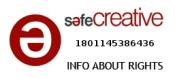no introducir el pie licencia safe creative