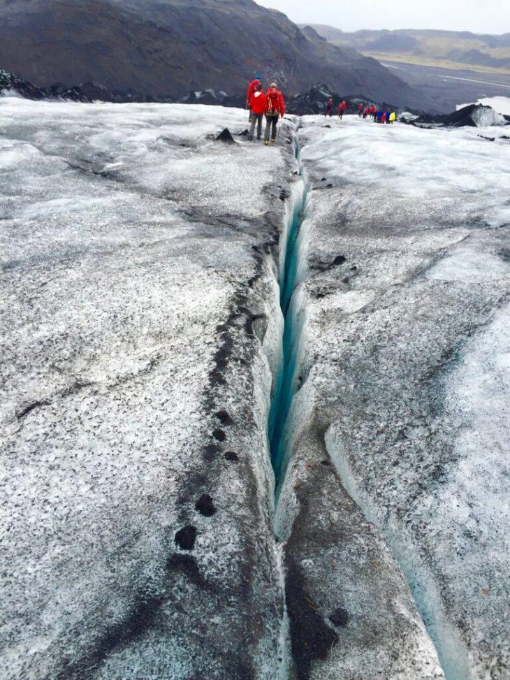 Glaciar Islandia: caminata de un día