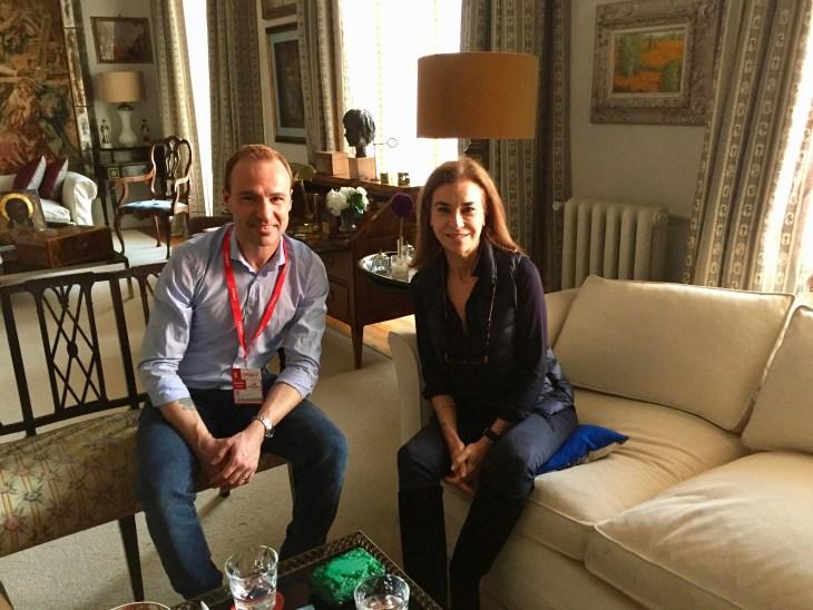 Entrevista Carmen Posadas de Jordi Pujolá