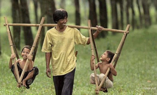 Cómo conseguir felicidad: Personas positivas
