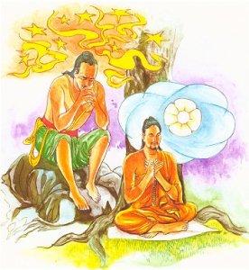 """Lidiar con el estrés: Ilustración del Dhammapada Verso 36 """"Una mente controlada lleva a la felicidad"""""""