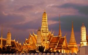Diferencia entre templo y monasterio - Templo del Buda Esmeralda en Bangkok