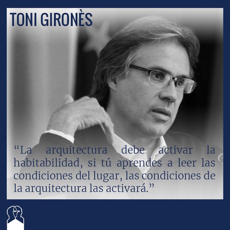 Toni girones congreso arquitectura y persona