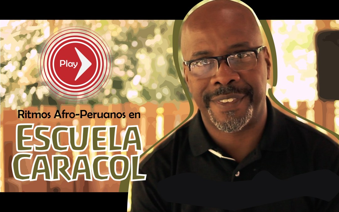 Afro Peruvian drumming in Escuela Caracol (video)