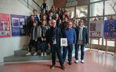 Visita de alumnos de intercambio en el IES Gabriel Alonso