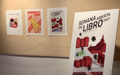 Exposición cartelería SEMANA ABIERTA del libro