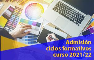 Abierto el plazo de inscripción a ciclos formativos 2021/22