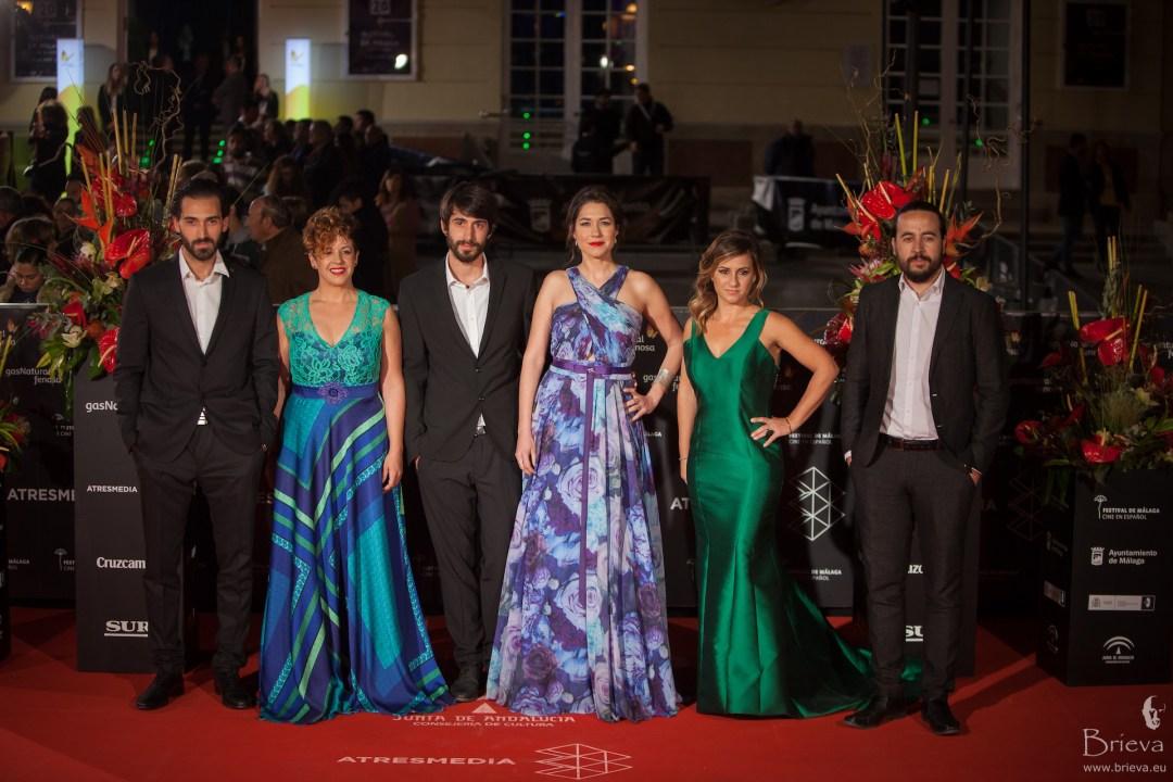 Nuestros alumnos de cine e interpretación estrenando película en el Festival de Málaga