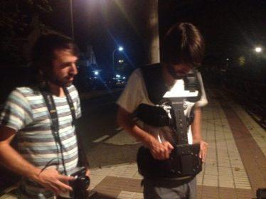 Rodaje STYX Maricielo pajares alumnos escuela cine malaga francis garcía daniel parra (1)