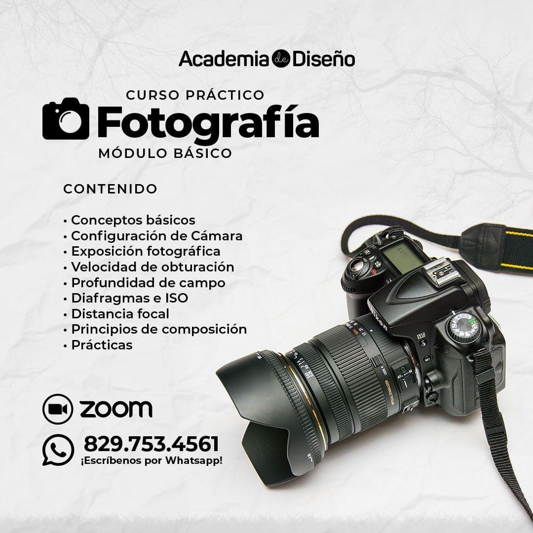 Curso de Fotografía Básica en Santo Domingo