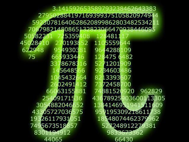 Récords en la memorización del número Pi