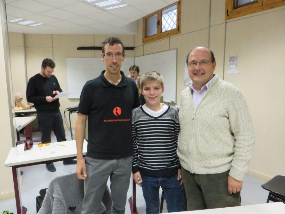 De derecha a izquierda: Paco Páez, Tobias Achleitner y José María Bea