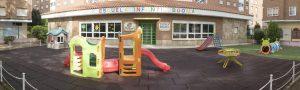 Edificio de la Escuela Infantil Booma en la Calle Capitán Cortés, 9 de Talavera de la Reina