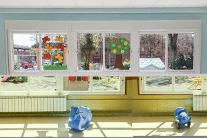 Luz natural en todas las aulas de la Escuela Infantil Booma