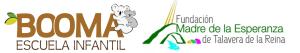 Logos de la Escuela Infantil Booma y de la Fundación Madre de la Esperanza