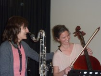 La alegría tras una buena interpretación - Concierto 15/3/14 - Musikum