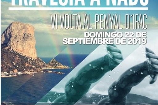 Preventivo de Socorrismo en la VI vuelta a nado al Peñón de Ifach en Calpe(Alicante)