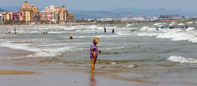 Cinco ahogados en las playas valencianas en 24 horas