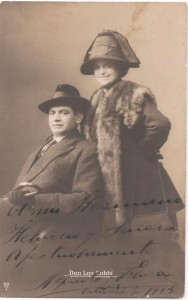 Alfredo Eusebio and Flora Gobbi