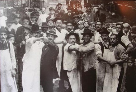 1900s Men Posing