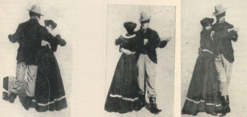 1903 Navas with Woman