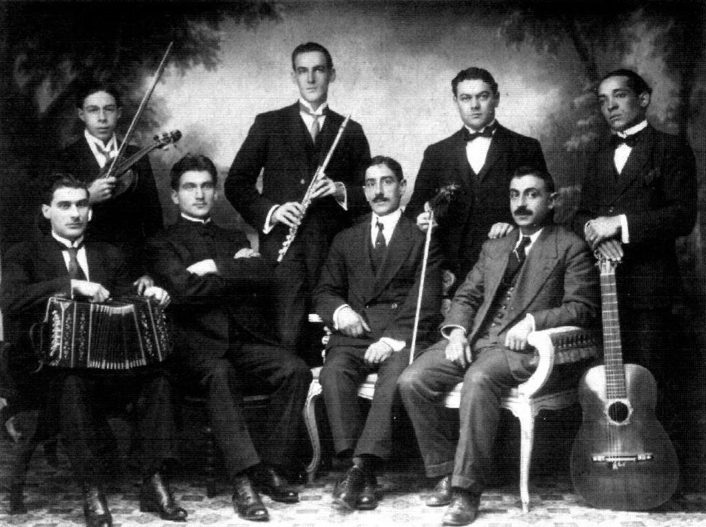 Canaro orquesta en Brazil
