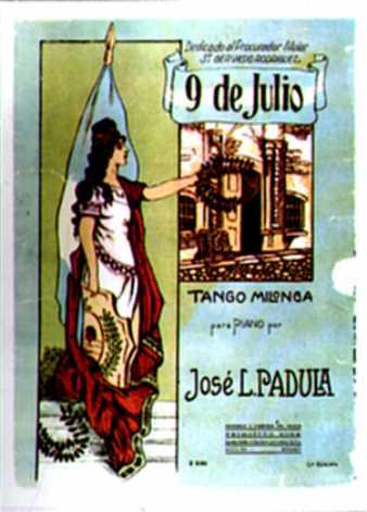 9 de julio. Argentine music at Escuela de Tango de Buenos Aires.