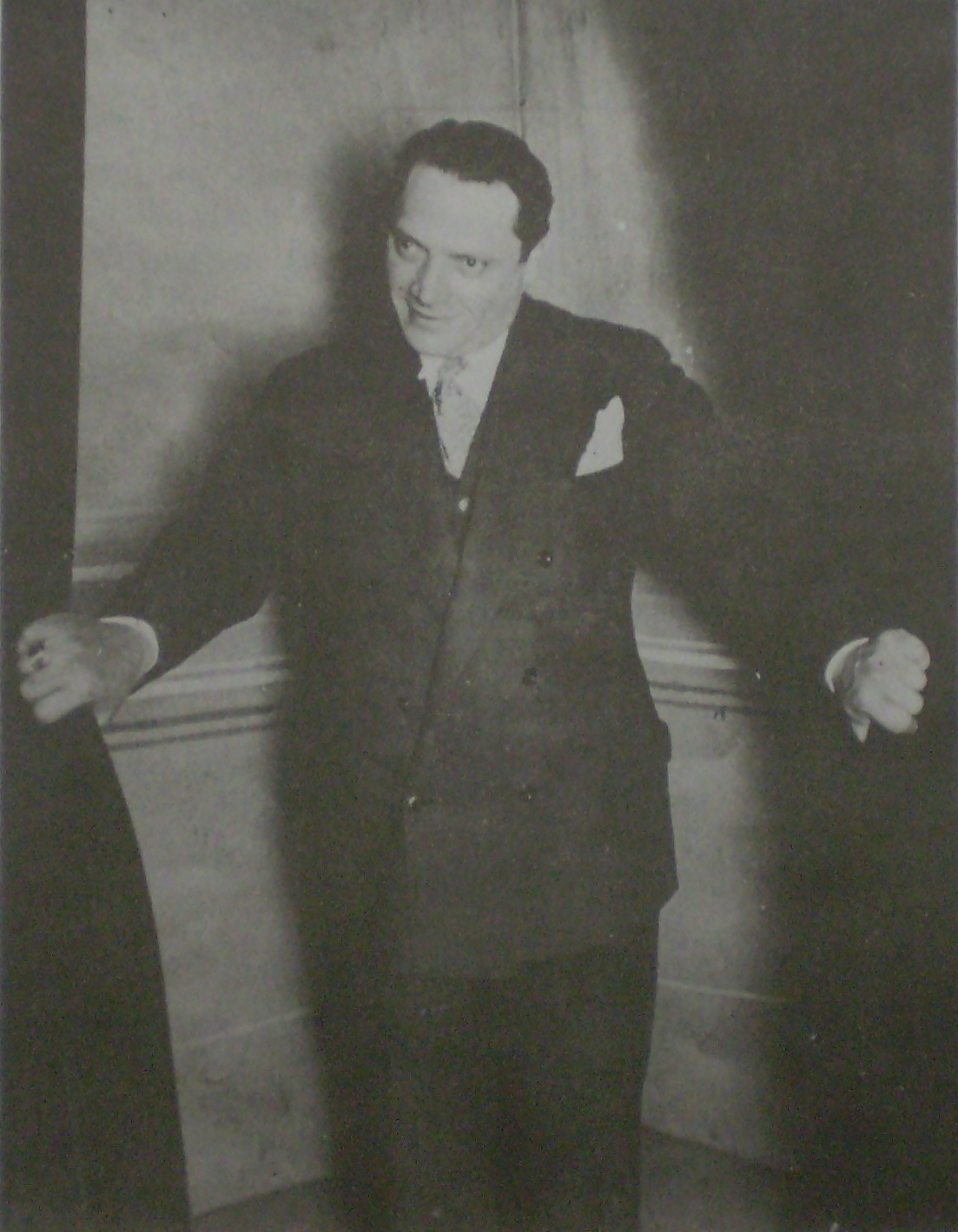 Alberto Vaccarezza, Argentine Tango author and lyricists.