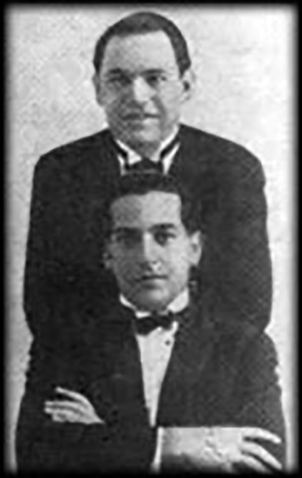 Alejandro Scarpino & Juan Caldarella, Argentine tango musicians and composers.