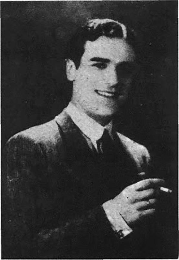 Amadeo Mandarino, Argentine Tango singer.